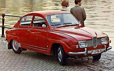 1969 Saab 96 V4 De Luxe Factory Photo J4335