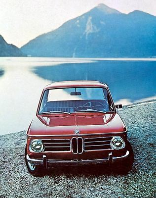 1971 BMW 2002 Factory Photo J4390