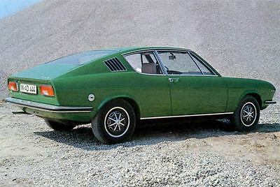 1971 Audi NSU 100 Coupe S Factory Photo J4386