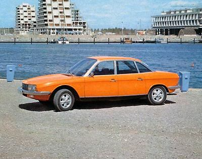 1971 Audi NSU RO80 Factory Photo J4387