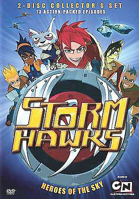 STORM HAWKS COLLECTOR'S SET HEROES OF THE SKY New Sealed 2 DVD Set