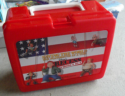 Modern Plastic Disney's Recess School's Out Lunch Box LOOK