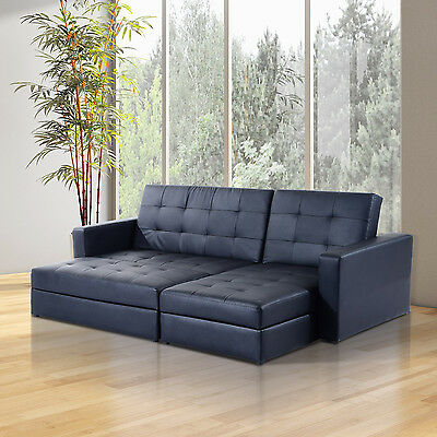 Sofa Bed Storage Sleeper Chaise Loveseat Couch Sectional Living Room Furniture