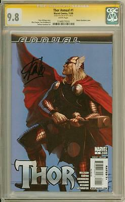 Thor Annual #1 Cgc 9.8 Signature Series Signed Stan Lee Marvel Avengers Movie