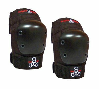 Triple 8 EP 55 Elbow Pads - Skate Safety Pads - Black