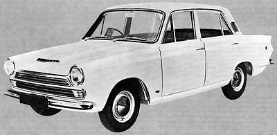 1966 Ford England Cortina GT Saloon Factory Photo J4702