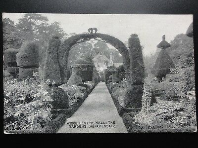 Cumbria: Levens Hall The Topiary Gardens (near Kendal) c1924 - Pub by Photochrom