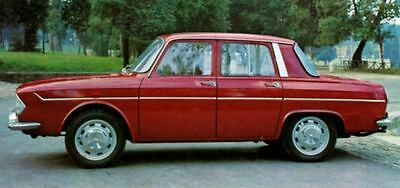 1966 Renault 10 Major Factory Photo J4942