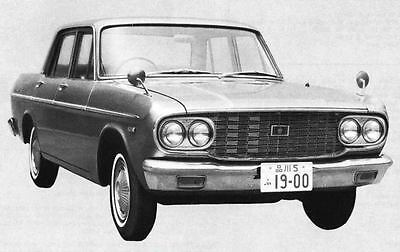 1966 Toyota Crown De Luxe Sedan Factory Photo J5006