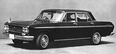1966 Toyota Crown Eight Sedan Factory Photo J5007