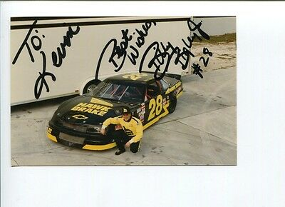 Billy Bigley Jr NASCAR Camping World Truck Driver Owner Signed Autograph Photo