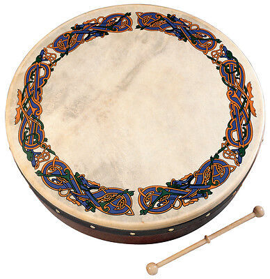 "WALTONS 12"" inch Celtic Animal Bodhran (10AWAL-1939)"