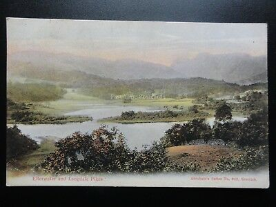 Cumbria: ater and Langdale Pikes - Lake District c1905 Pub Abraham's No.348