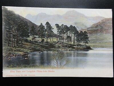 Cumbria: Blea Tarn and Langdale Pikes - Lake District c1905 Pub Abraham's No.243