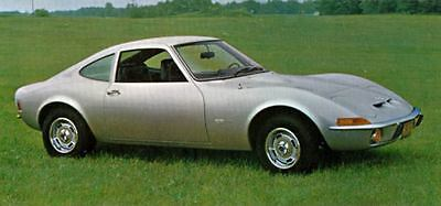 1969 Opel GT Factory Photo J5190