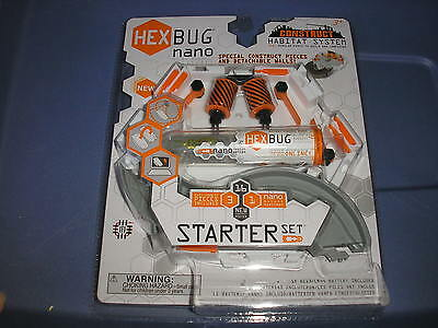 New Hex Bug Nano Starter Set Special Contruct Pieces and Detachable Walls