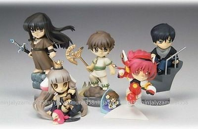 CLAMP IN 3-D LAND Figure set of 5 vol.2 3D tsubasa Syaoran Freya Authentic