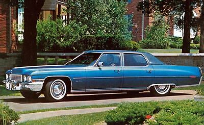 1972 Cadillac Fleetwood Brougham Factory Photo J5320