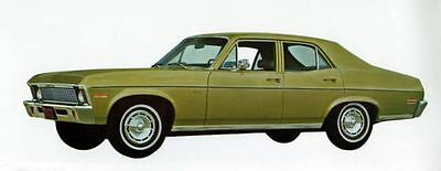 1971 Chevrolet Nova Sedan Factory Photo J5285