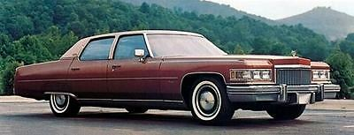 1975 Cadillac Fleetwood Brougham Factory Photo J5401