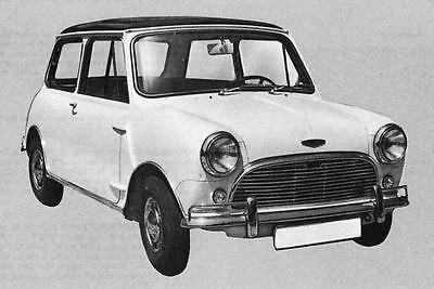 1967 Austin Mini Cooper 1000 Factory Photo J5431