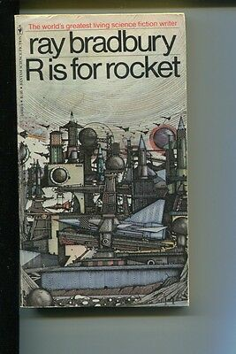 Ray Bradbury Sci-Fi Fantasy Author R Is For Rocket Rare Signed Autograph Book