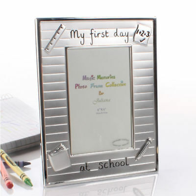 My First Day at School Photo Frame FS475