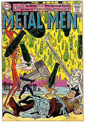Metal Men #1 2.0 Cream Pages Silver Age