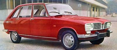 1967 Renault 16 Factory Photo J5836