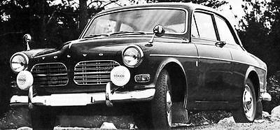 1967 Volvo 123GT Saloon Factory Photo J5923