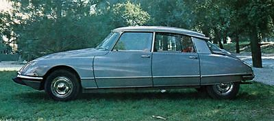 1968 Citroen DS21 Pallas Factory Photo J6034