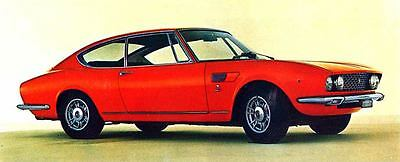 1968 Fiat Dino Coupe 2000 Factory Photo J6065