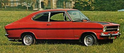 1968 Opel Kadett LS Coupe Rallye Factory Photo J6205