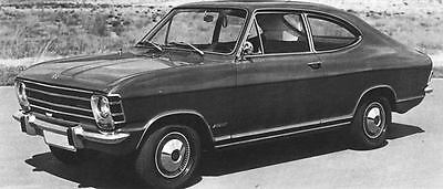 1968 Opel Olympia Coupe Factory Photo J6208