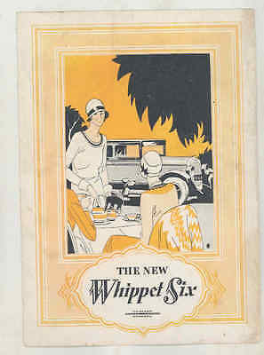 1928 Willys Whippet Six Brochure Poster wt7184