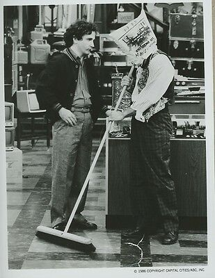 Bronson Pinchot Mark Linn-Baker ABC 1986 PERFECT STRANGERS Press Photo RARE