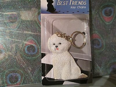 Bichon  Frise ~ Best Friend Key Chain