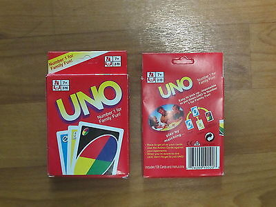 UNO Playing Cards - Family Card Games - BRAND NEW