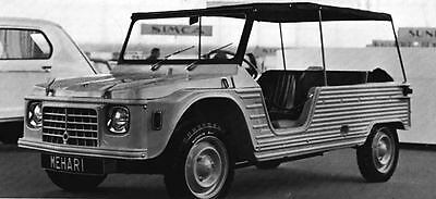 1969 Citroen Mehari Factory Photo J6411