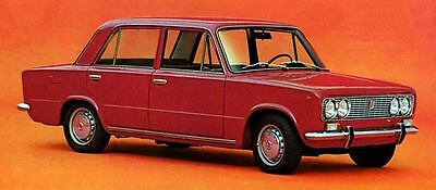 1969 Fiat 124 Special Berlina Factory Photo J6435