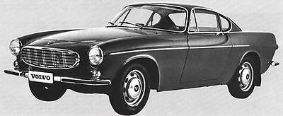 1969 Volvo 1800S Coupe Factory Photo J6649