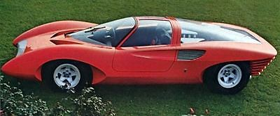 1969 Ferrari 250P5 Berlinetta Pininfarina Concept Photo J6670