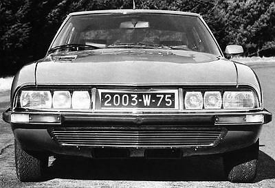 1970 Citroen SM Maserati Factory Photo J6701
