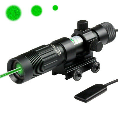 Night Vision Hunter Green Laser Designator/Illuminator/Flashlight w/Weaver Mount