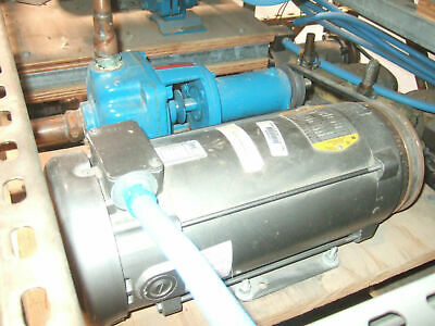 BURKS Turbine Pump Model ES6M With Baldor 2.0 HP Motor