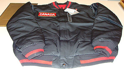 Team Canada 2014 Sochi Winter Olympics Hockey XL Reversible Defender Jacket 1.3