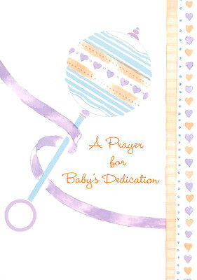 Promise the Lord Baby Dedication Cards, Box of 12
