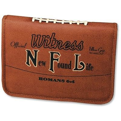 New Found Life (NFL) Football Bible Cover, Medium