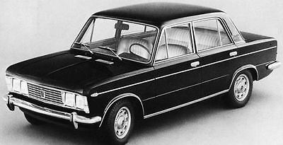 1970 Fiat 125 Special Berlina Factory Photo J6955