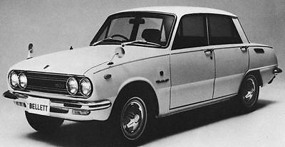 1970 Isuzu Bellett 1500 Sedan Factory Photo J7112